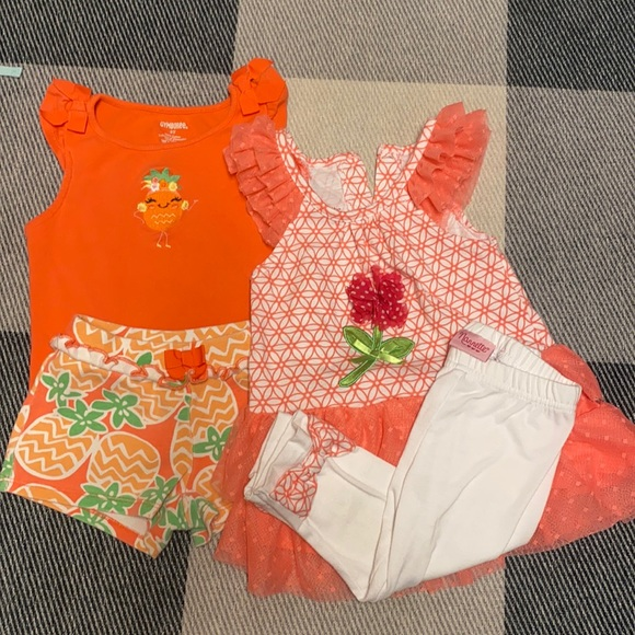 3/$20   2 Outfit pack! Gymboree and Nanette - 3T